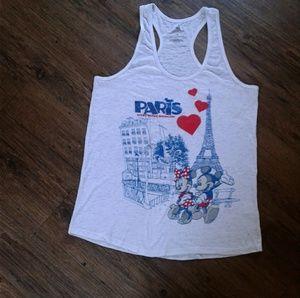 Disney Parks Mickey & Minnie Paris Epcot Tank Top